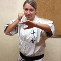 Mélanie Mancini juste avant le championnat du japon de 2013